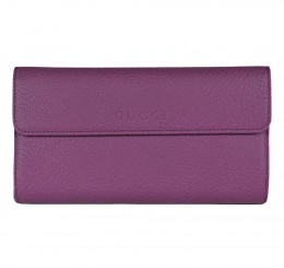 Gucci Women's Purple Grape Leather Wallet