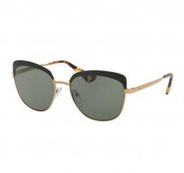 PRADA Prada Women's Black/Gold Sunglasse