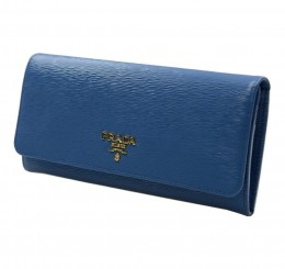 Prada Women's Blue Wallet